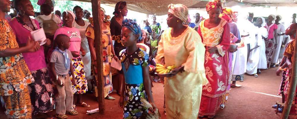 Missa para os refugiados centro-africanos no Congo.