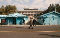 Região de fronteiras entre Coreias do Sul e do Norte